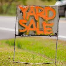 Yard Sale Blake Moving